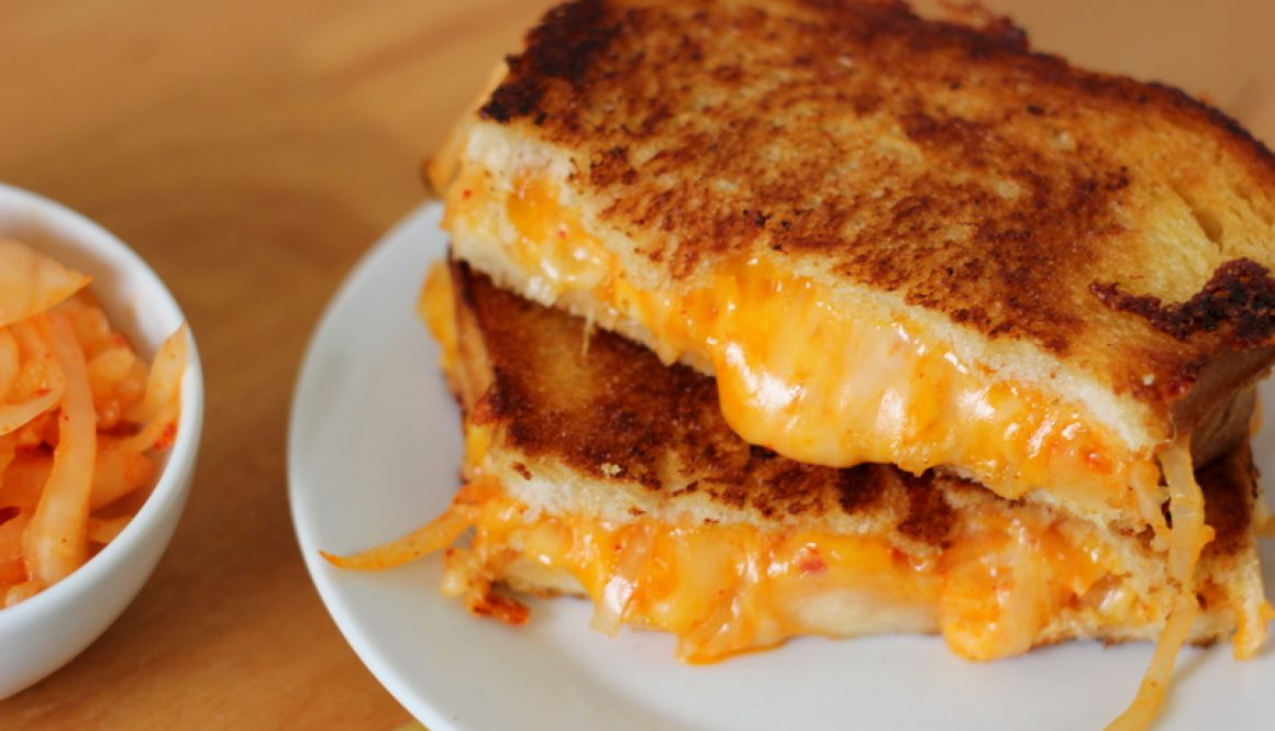 kimchi grilled cheese sandwich recipe
