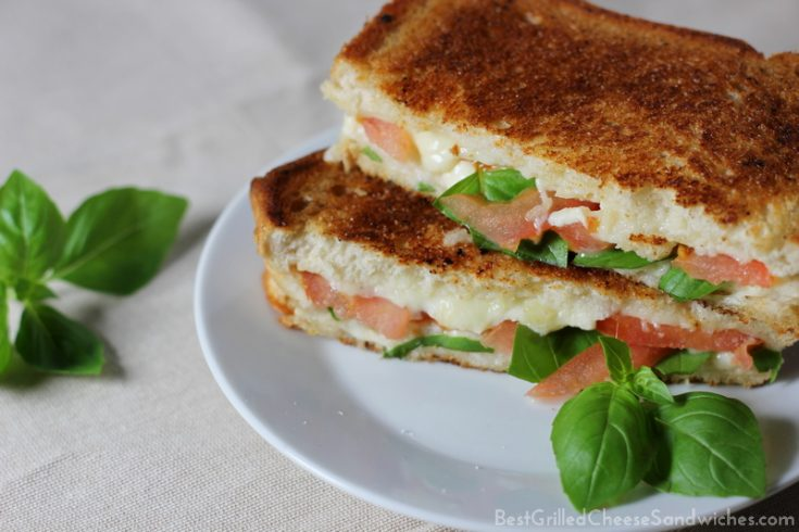 best caprese grilled cheese sandwich recipe
