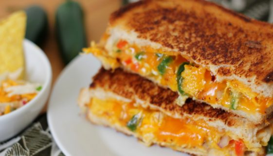 best chicken nachos grilled cheese sandwich recipe