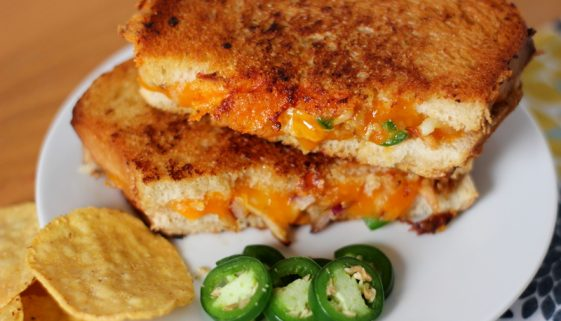 best chicken quesadilla grilled cheese sandwich recipe