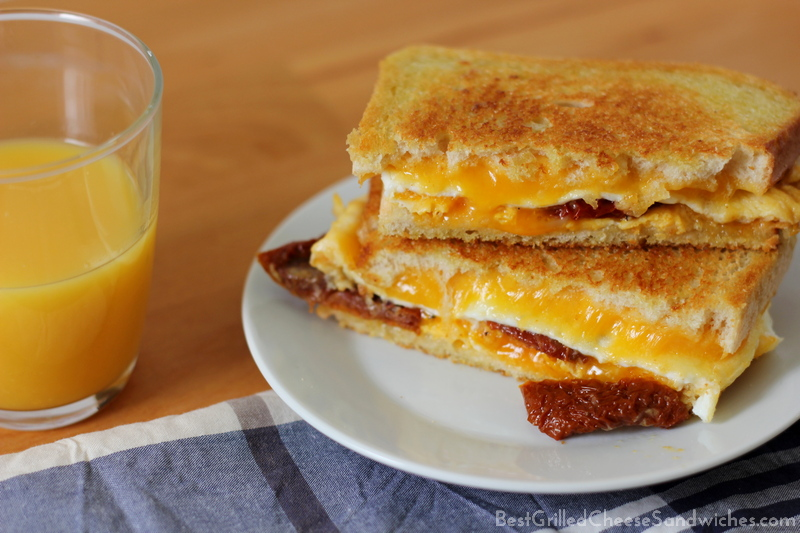 best egg and cheese grilled cheese sandwich recipe