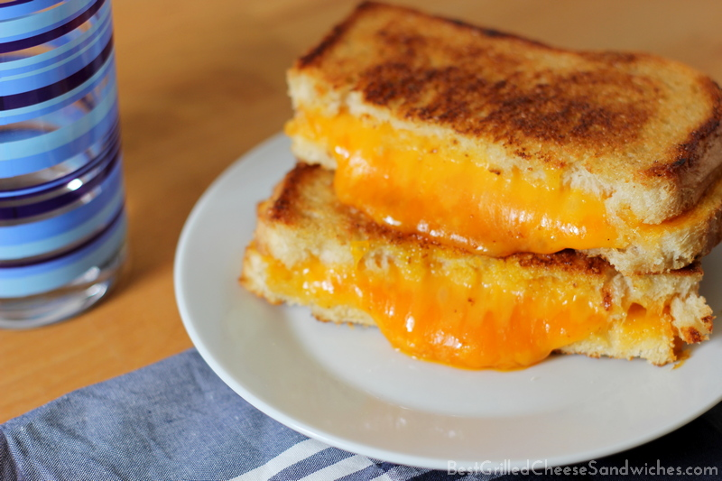 best grilled cheese sandwich recipe classic cheddar