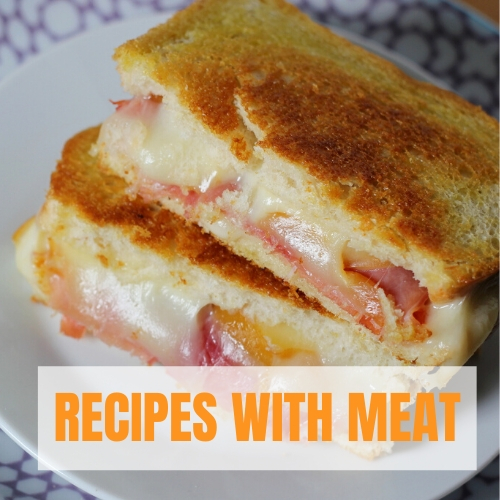 best grilled cheese sandwich recipes with meat