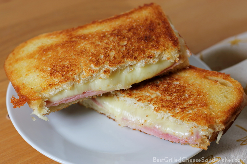 best ham and cheese grilled cheese sandwich recipe