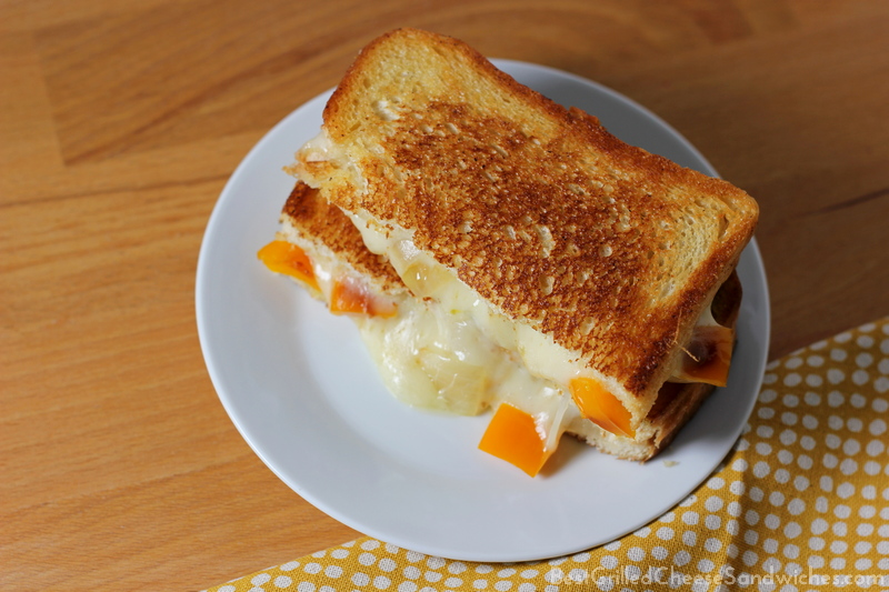 best provolone peppers and onions grilled cheese sandwich recipe