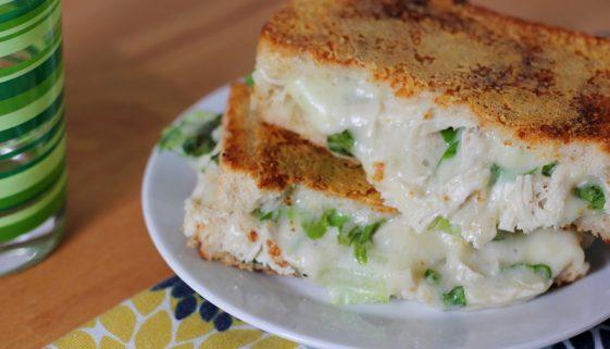 chicken caesar grilled cheese sandwich recipe