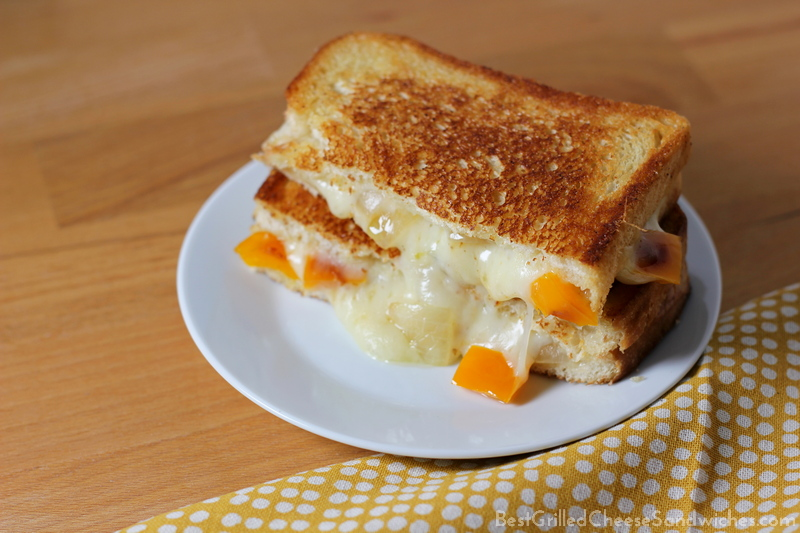 provolone peppers and onions grilled cheese sandwich recipe