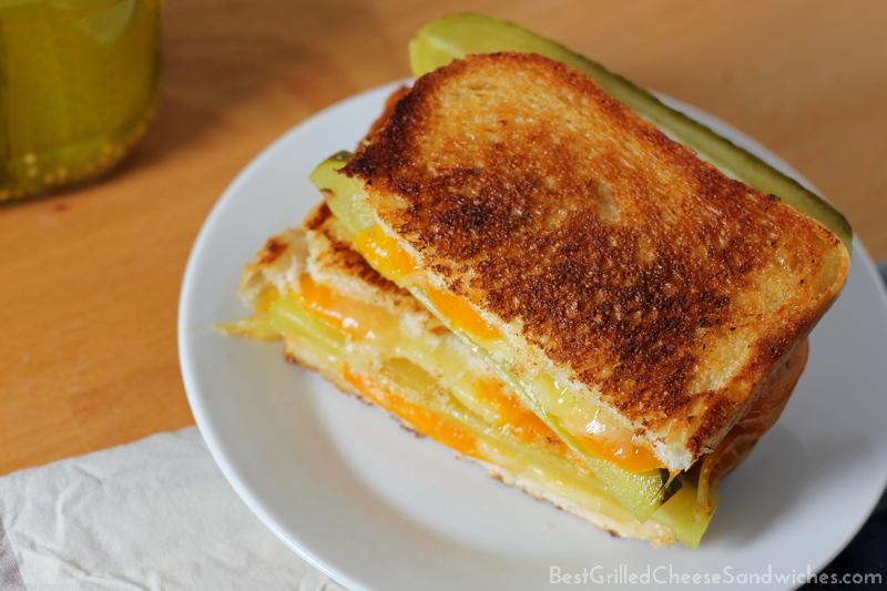 pickles grilled cheese sandwich recipe