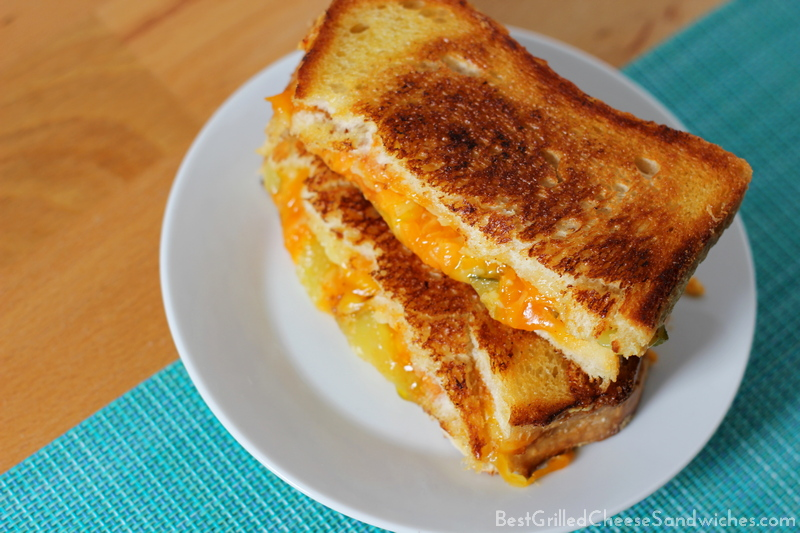 best grilled cheese sandwich with pickles recipe